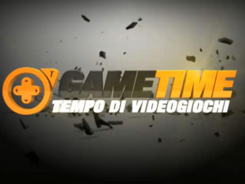 """Sigla trasmissione """"Game Time: tempo di videogiochi"""""""