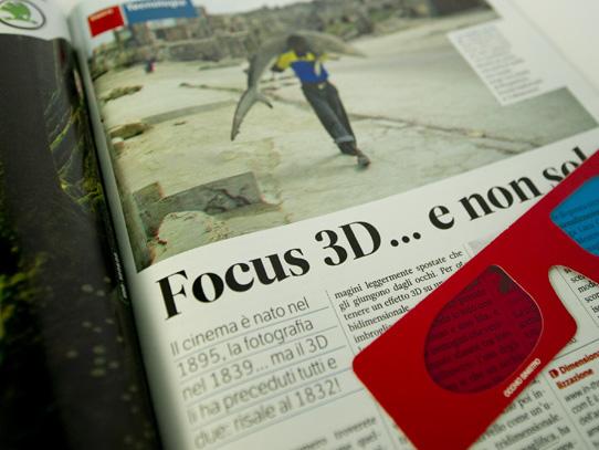 Focus in 3D con gli occhialini