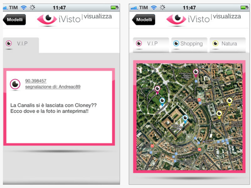 i-Visto è la App per fare e visualizzare segnalazioni