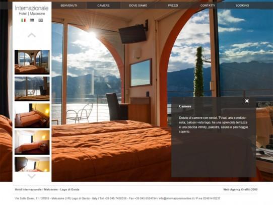 Hotel Internazionale Malcesine: sito web