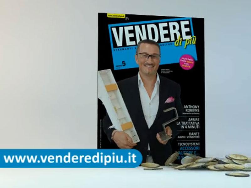 Video virali della campagna multi-soggetto per promuovere la rivista Vendere di più