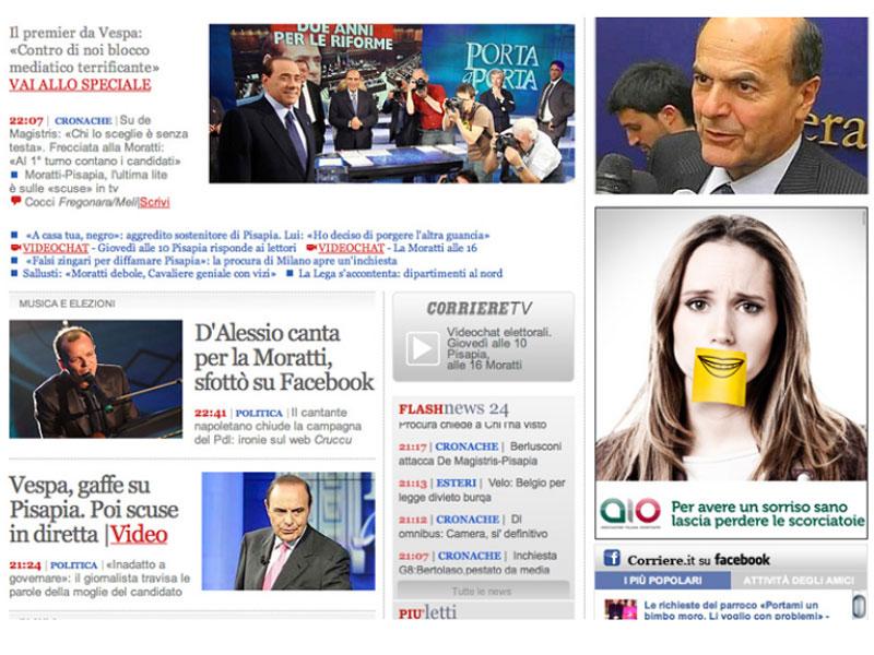 AIO Associazione Italiana Odontoiatri: campagna istituzionale BANNER