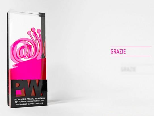 Premio Web Italia: Lifetime Achievement Award 2012