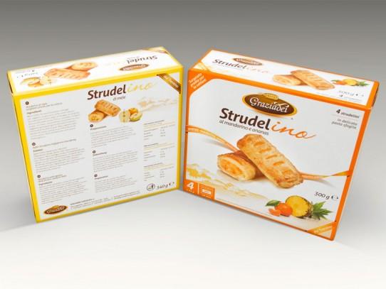 Packaging Strudelino Graziadei