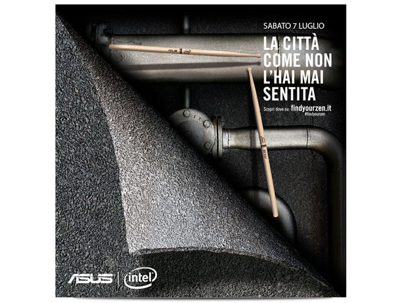 Asus Zenbook - La campagna Find You Zen