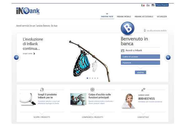 L'InBank sempre più mobile