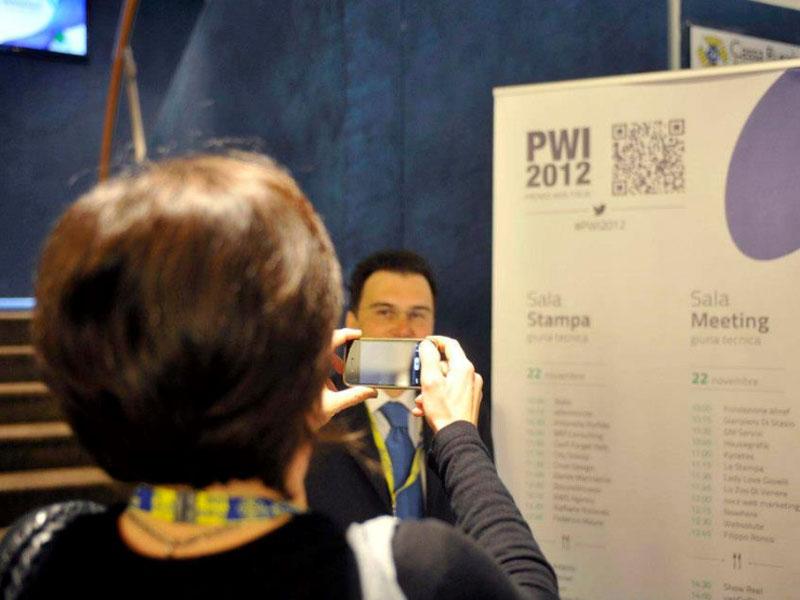 Premio Web Italia 2012 al Centro Congressi di Riva del Garda