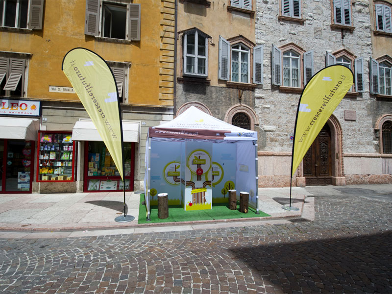 Casse Rurali: Ambient marketing al Festival dell'Economia 2013