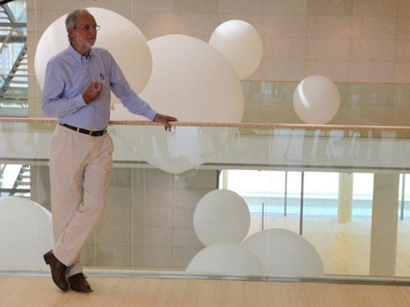 L'architetto Renzo Piano, artefice del MUSE