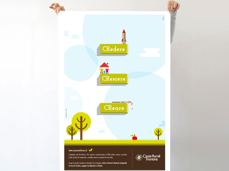 Crescere il futuro vince il primo premio Banca e Territorio