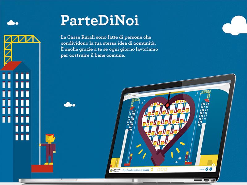 Il progetto ParteDiNoi per le CR